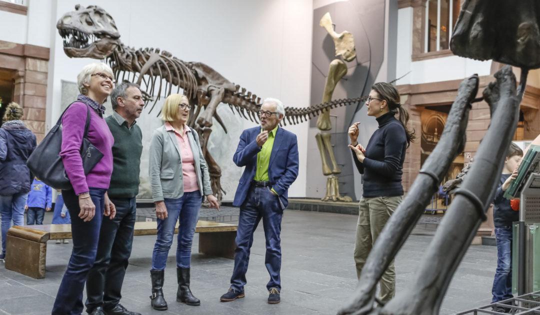Senckenberg (Erwachsenen)Führung im Museum