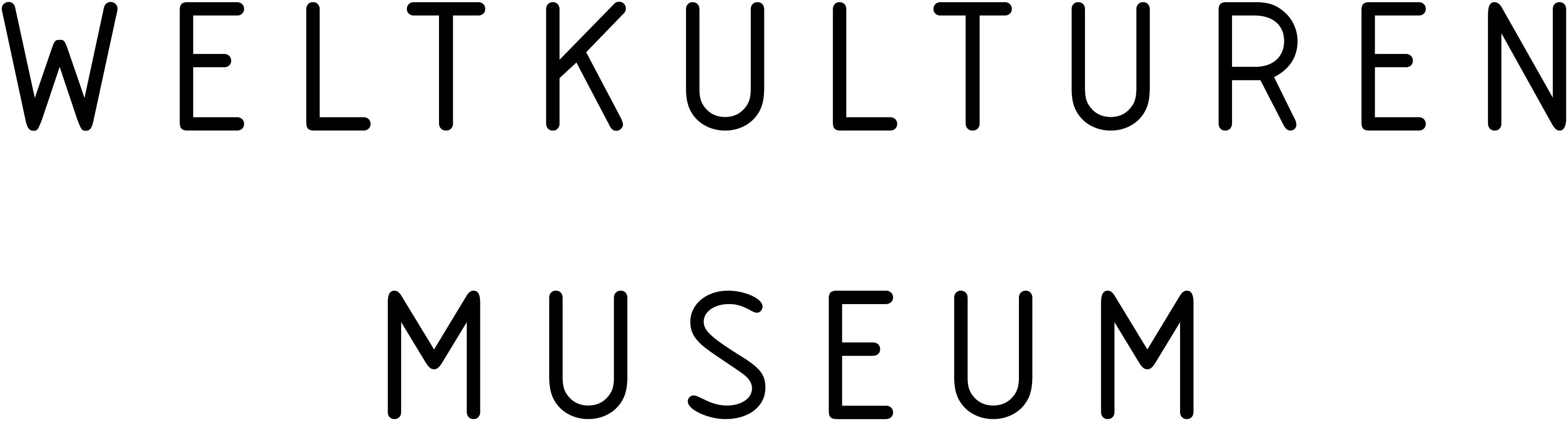 Weltkulturenmuseum Logo
