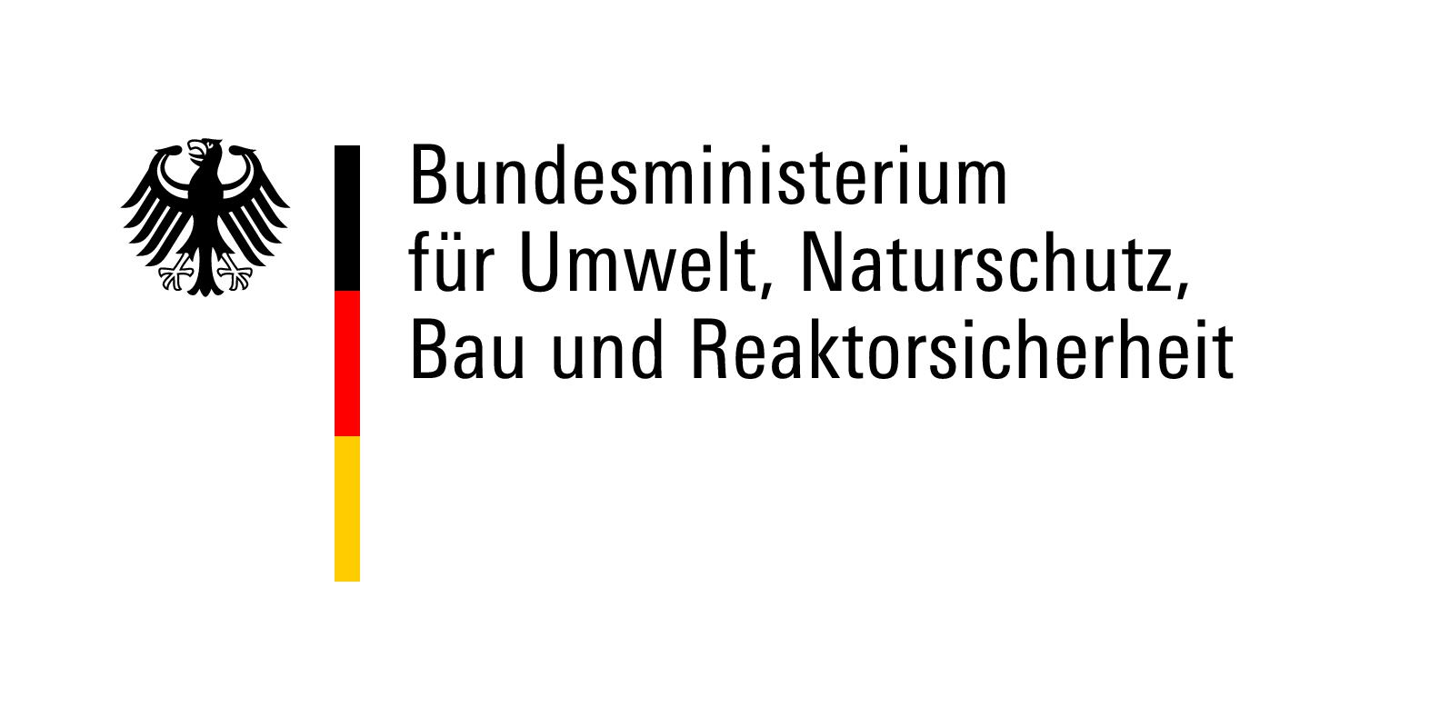 Bundesministerium für Umwelt, Naturschutz, Bau und Reaktorsicherheit Logo
