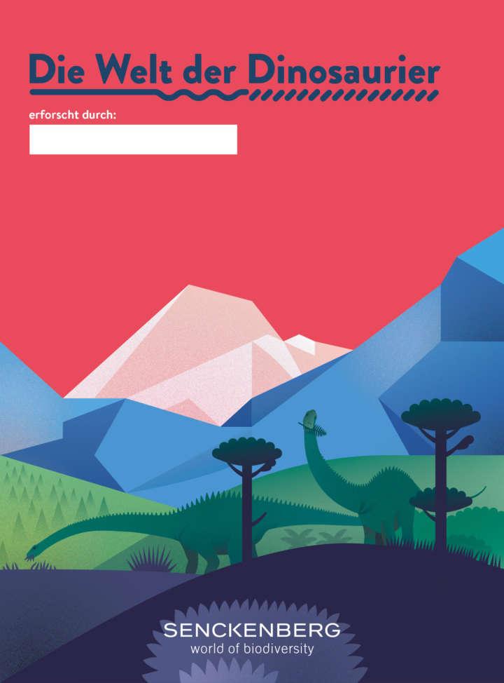 Aktivblatt Welt der Dinosaurier Cover