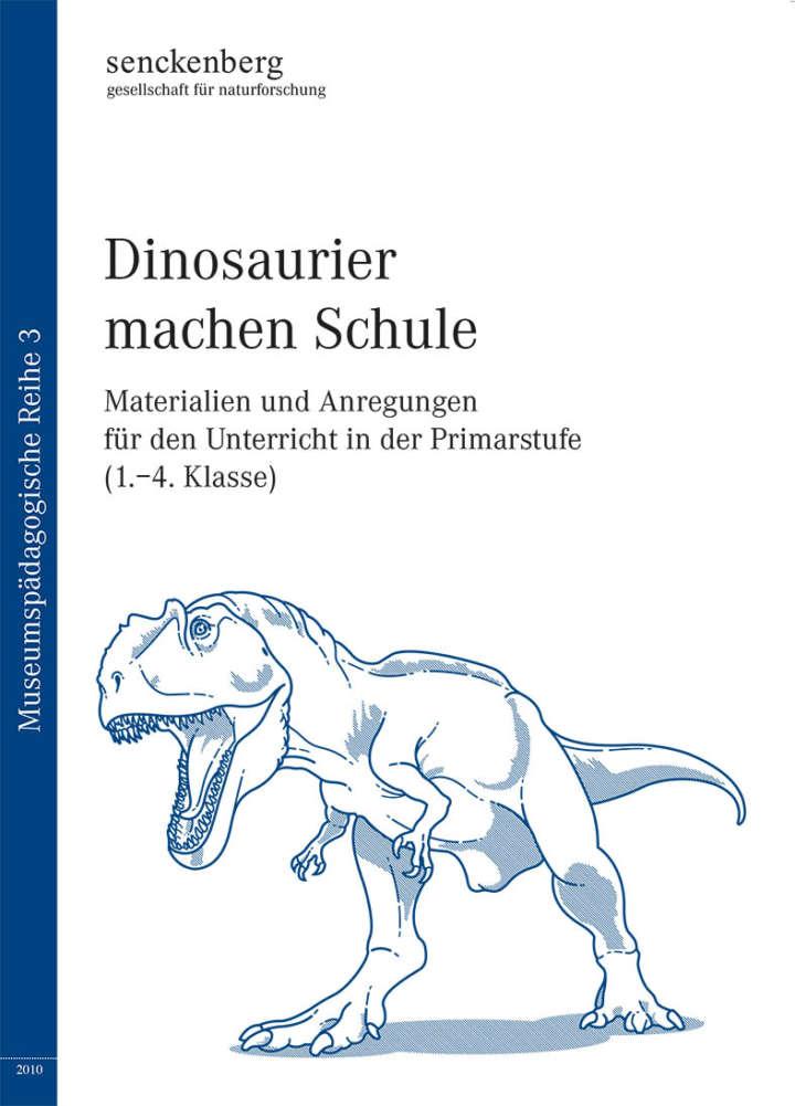 Cover Dinosaurier machen Schule