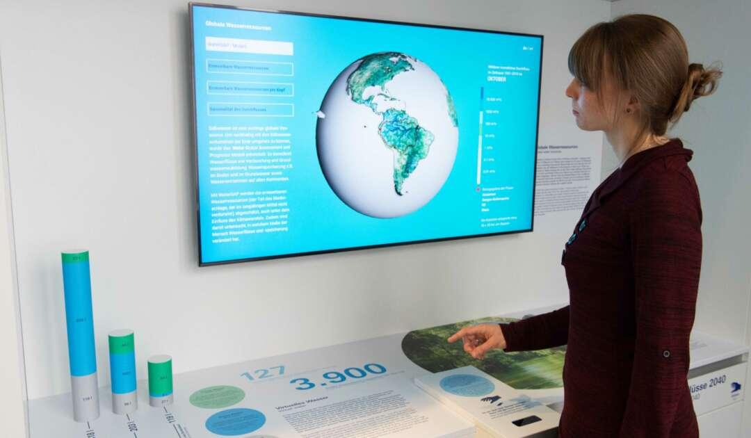 Ausstellung Flüsse 7 Globaler Wasserkreislauf c Senckenberg