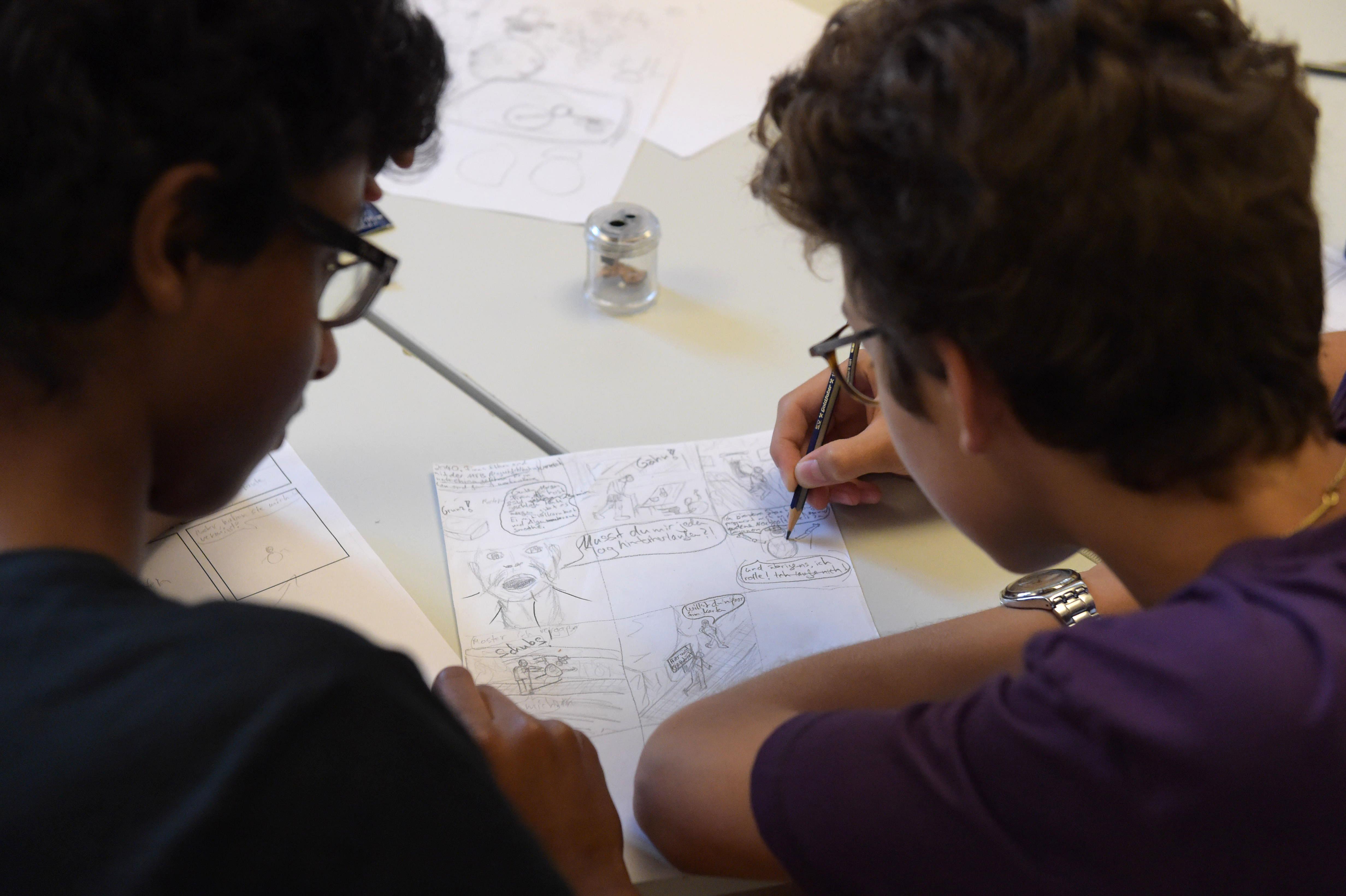 Biokompass Projektwoche Comics