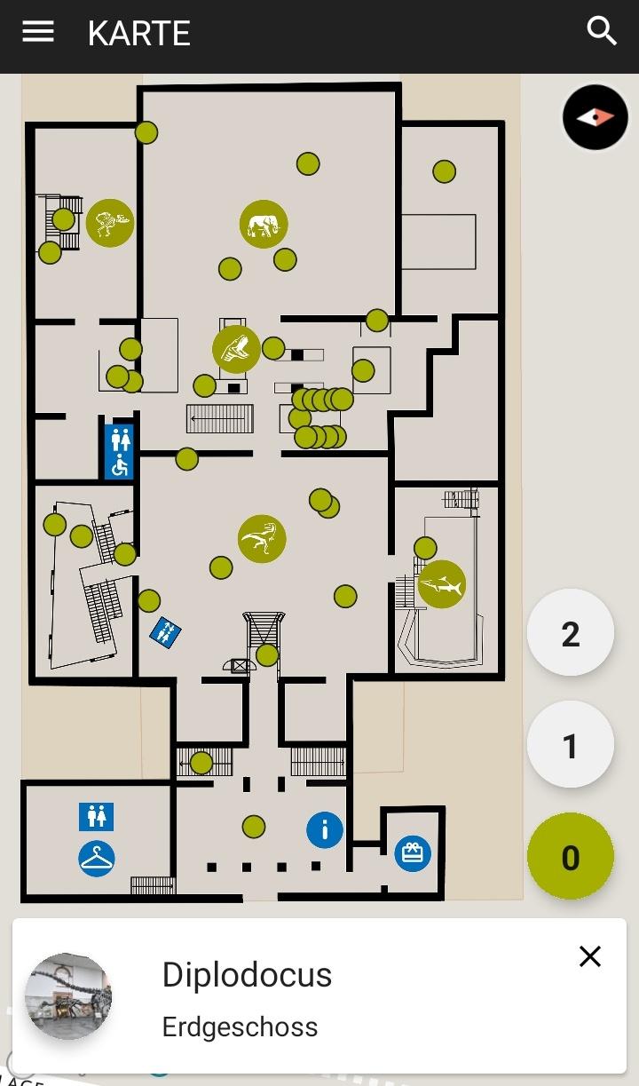 Screenshot Mediaguide map DE