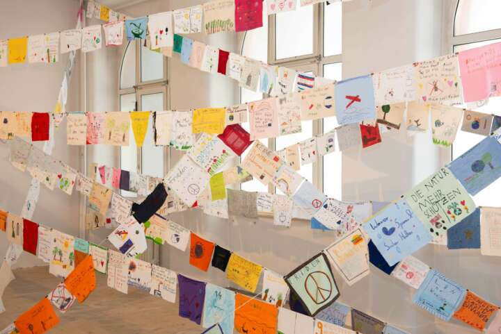 Pop-Up Ausstellung Textorschule